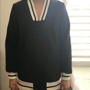 varsity style blazer/coat